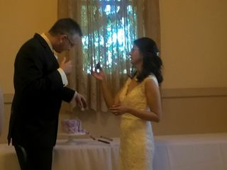 The wedding of Venus  and Mike