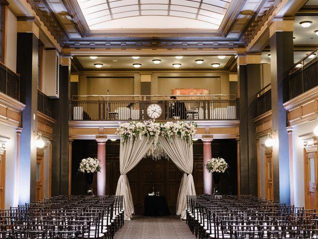 Bill and Bronte's wedding in Toronto, Ontario 9