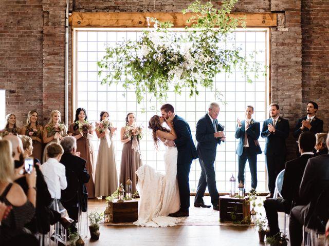 The wedding of Carlie and Simon