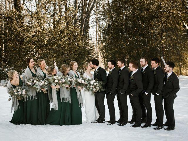 Elias and Kyrie's wedding in Elora, Ontario 2