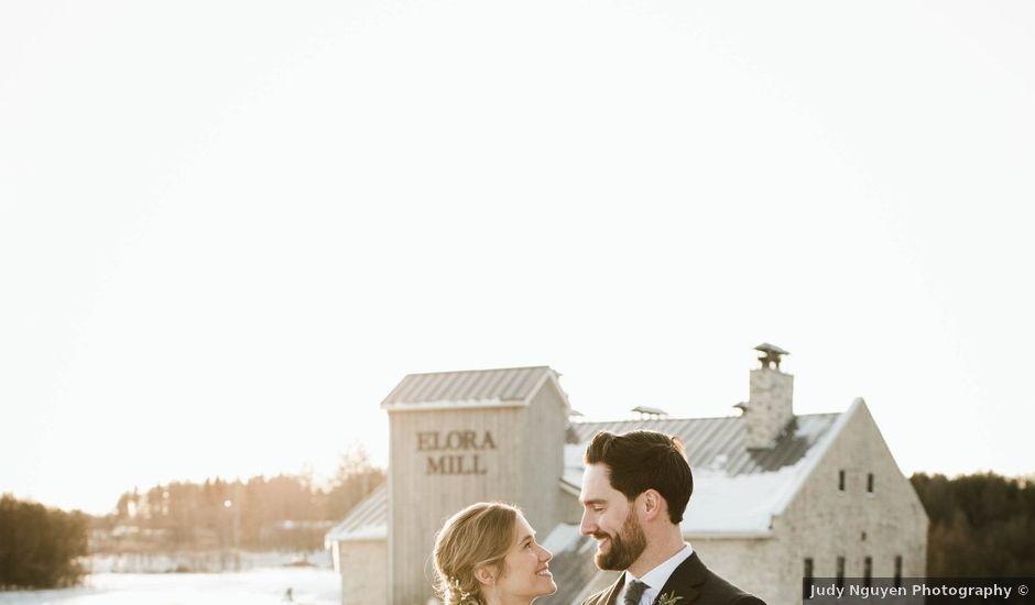 Elias and Kyrie's wedding in Elora, Ontario