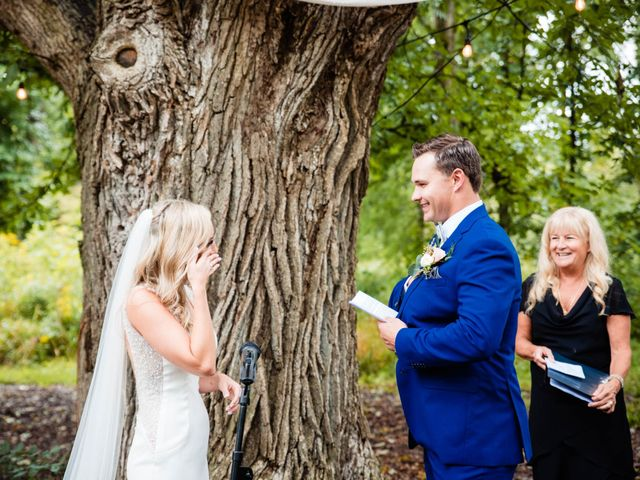 Rachael and Rob's wedding in Kerwood, Ontario 49