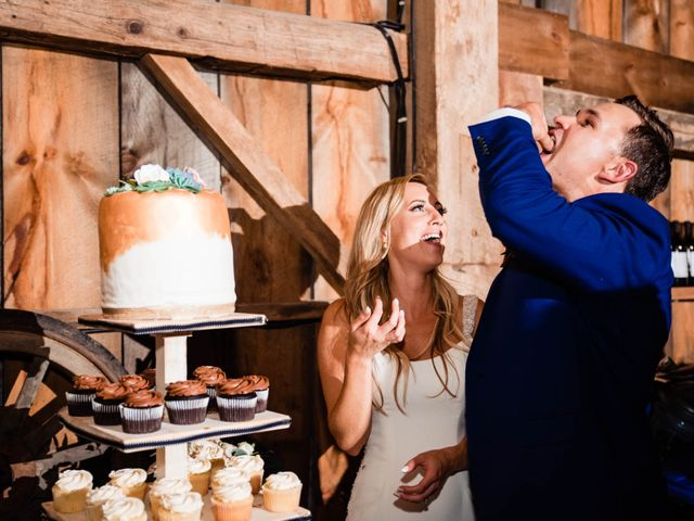 Rachael and Rob's wedding in Kerwood, Ontario 129