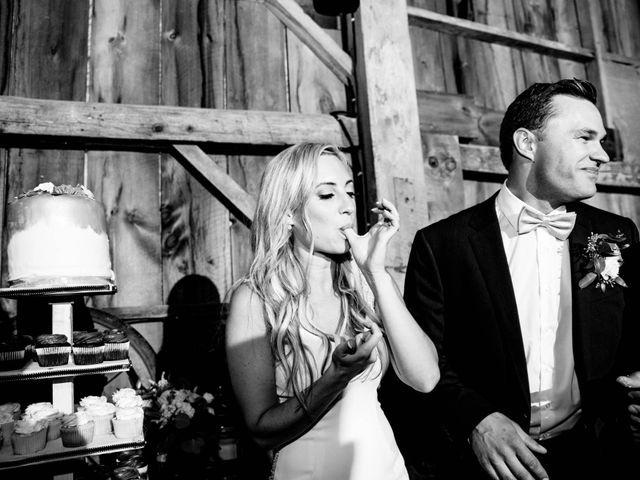 Rachael and Rob's wedding in Kerwood, Ontario 130