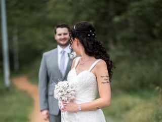 The wedding of Krystie and Kyle 1