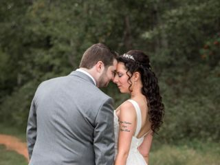 The wedding of Krystie and Kyle