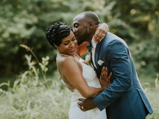 The wedding of Althea and Quincy