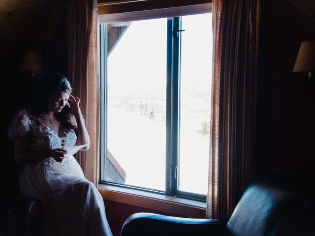 Collin and Vanessa's wedding in Golden, British Columbia 1