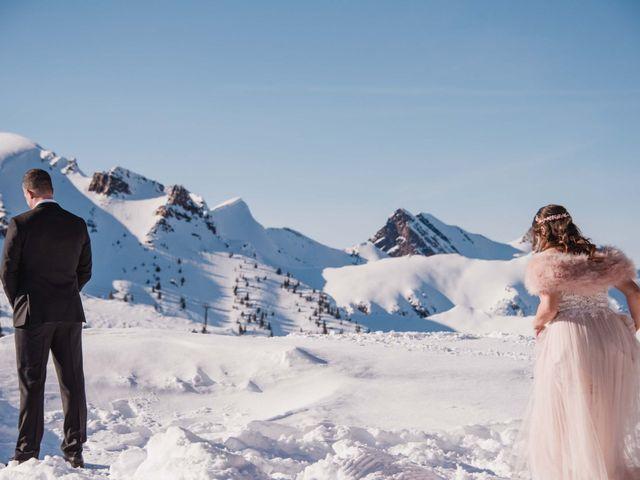 Collin and Vanessa's wedding in Golden, British Columbia 2
