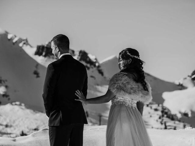 Collin and Vanessa's wedding in Golden, British Columbia 4