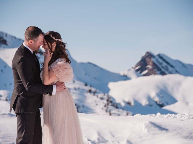 Collin and Vanessa's wedding in Golden, British Columbia 6