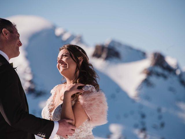 Collin and Vanessa's wedding in Golden, British Columbia 7