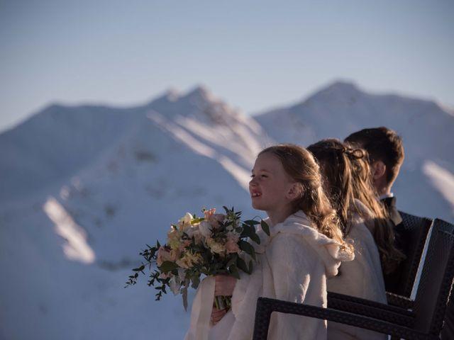 Collin and Vanessa's wedding in Golden, British Columbia 9