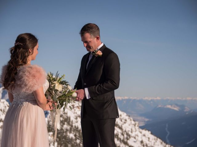 Collin and Vanessa's wedding in Golden, British Columbia 10