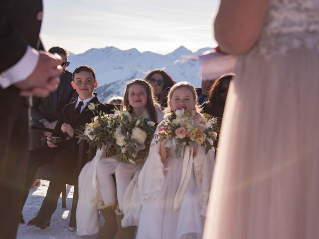 Collin and Vanessa's wedding in Golden, British Columbia 12