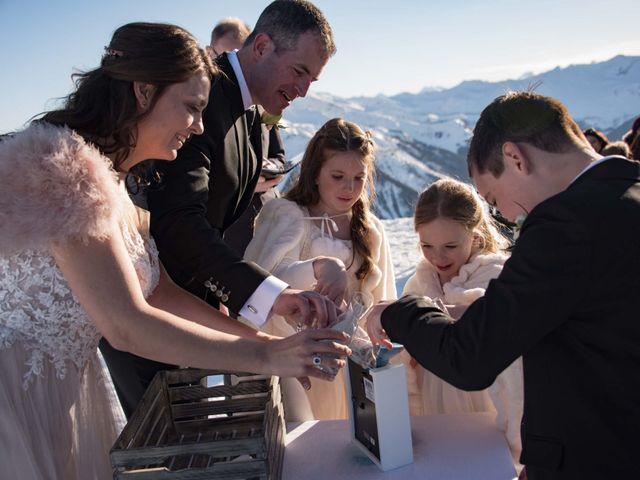 Collin and Vanessa's wedding in Golden, British Columbia 14