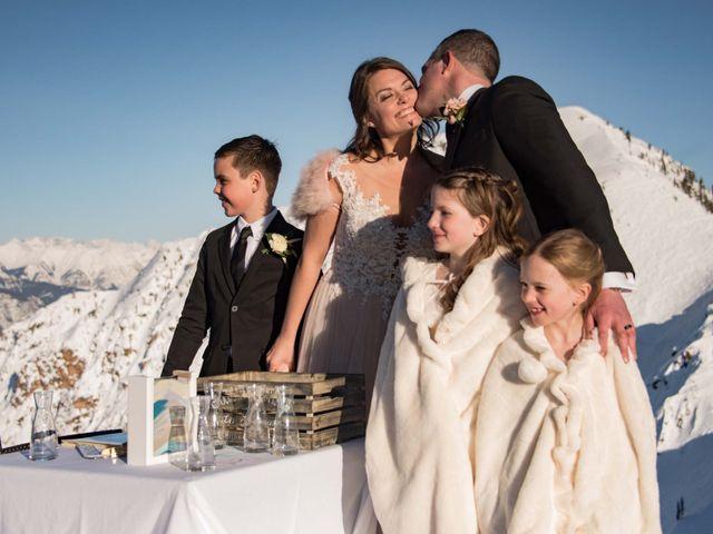 Collin and Vanessa's wedding in Golden, British Columbia 15