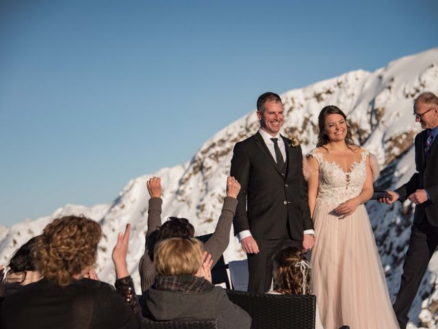 Collin and Vanessa's wedding in Golden, British Columbia 16