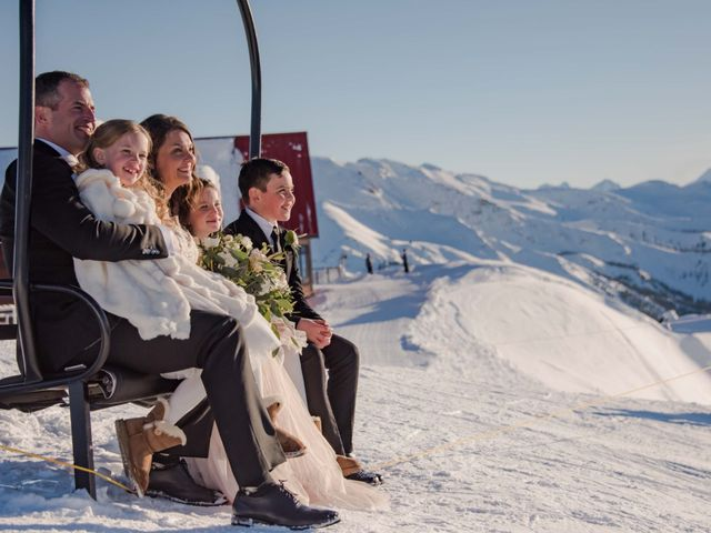 Collin and Vanessa's wedding in Golden, British Columbia 17