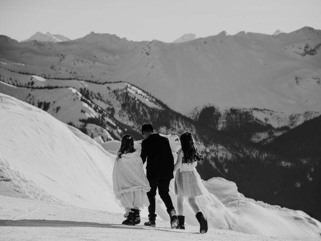 Collin and Vanessa's wedding in Golden, British Columbia 18