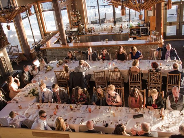 Collin and Vanessa's wedding in Golden, British Columbia 24