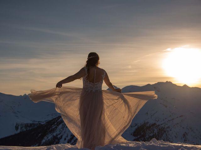 Collin and Vanessa's wedding in Golden, British Columbia 26