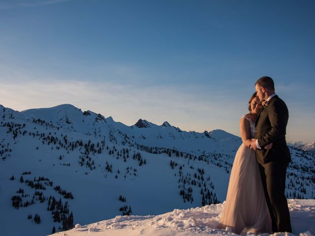 Collin and Vanessa's wedding in Golden, British Columbia 29