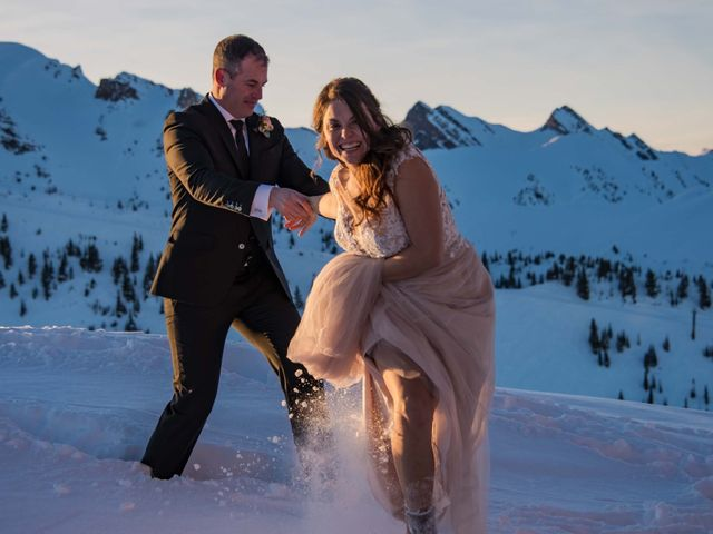 Collin and Vanessa's wedding in Golden, British Columbia 30