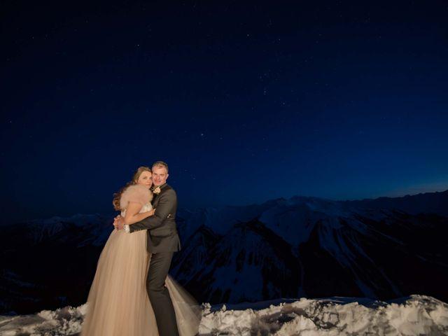 Collin and Vanessa's wedding in Golden, British Columbia 35