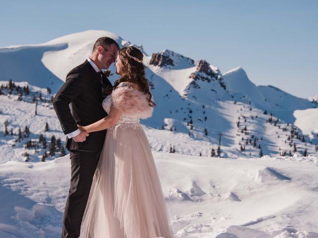 Collin and Vanessa's wedding in Golden, British Columbia 41