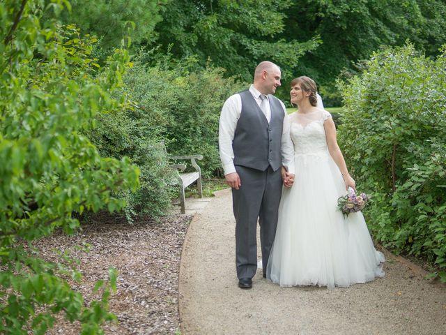 The wedding of Julia and Josh