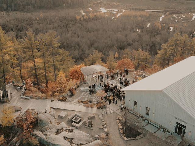 Matthew and Catherine's wedding in Wakefield, Quebec 5