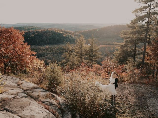 Matthew and Catherine's wedding in Wakefield, Quebec 18