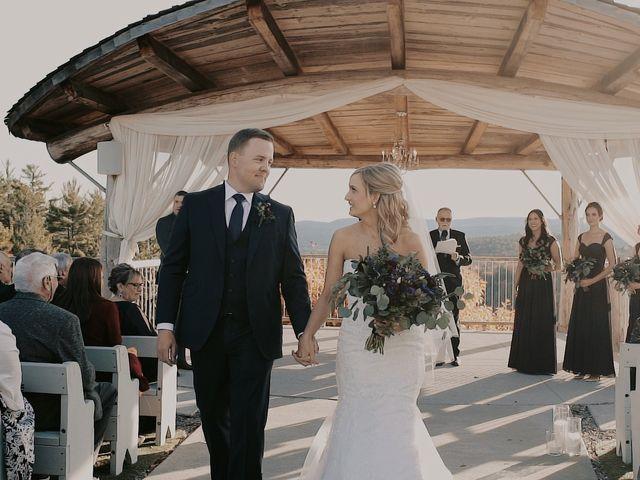 Matthew and Catherine's wedding in Wakefield, Quebec 2
