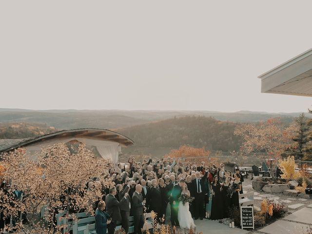 Matthew and Catherine's wedding in Wakefield, Quebec 38