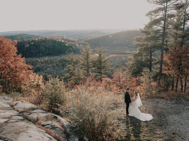 Matthew and Catherine's wedding in Wakefield, Quebec 40