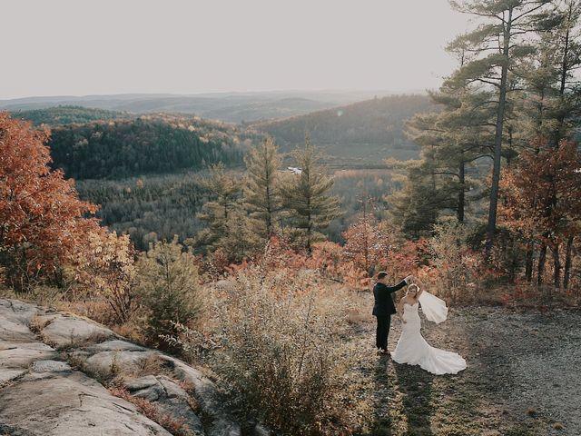 Matthew and Catherine's wedding in Wakefield, Quebec 41