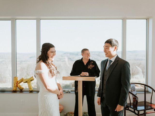 Tai and Karen's wedding in Bancroft, Ontario 5