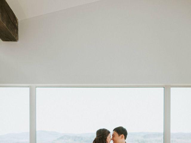 Tai and Karen's wedding in Bancroft, Ontario 13