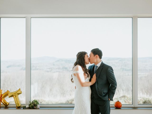 Tai and Karen's wedding in Bancroft, Ontario 15