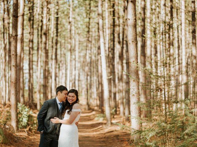Tai and Karen's wedding in Bancroft, Ontario 29
