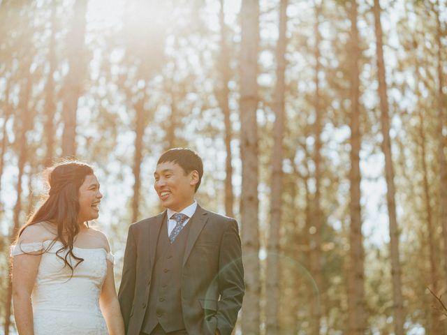 Tai and Karen's wedding in Bancroft, Ontario 33