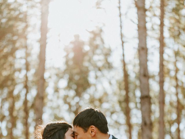Tai and Karen's wedding in Bancroft, Ontario 34