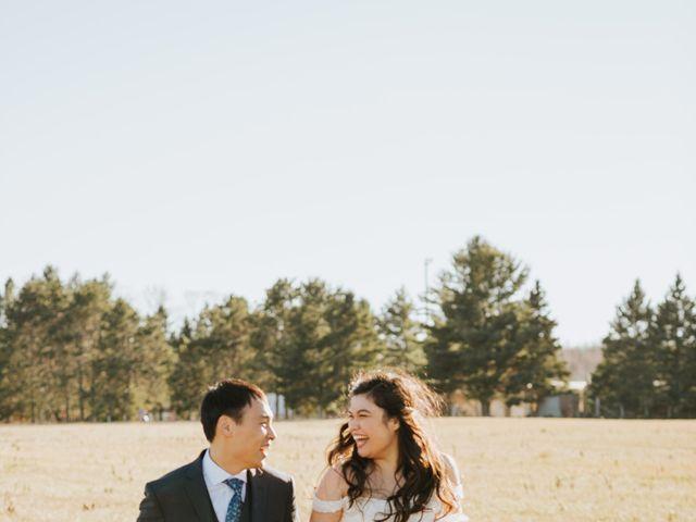 Tai and Karen's wedding in Bancroft, Ontario 46