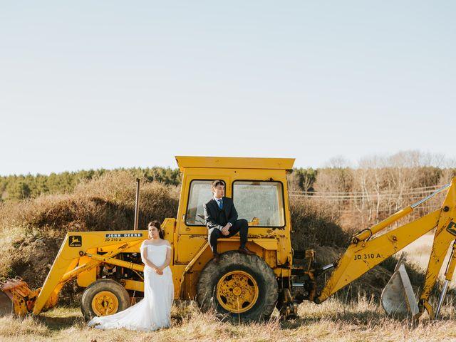 Tai and Karen's wedding in Bancroft, Ontario 48