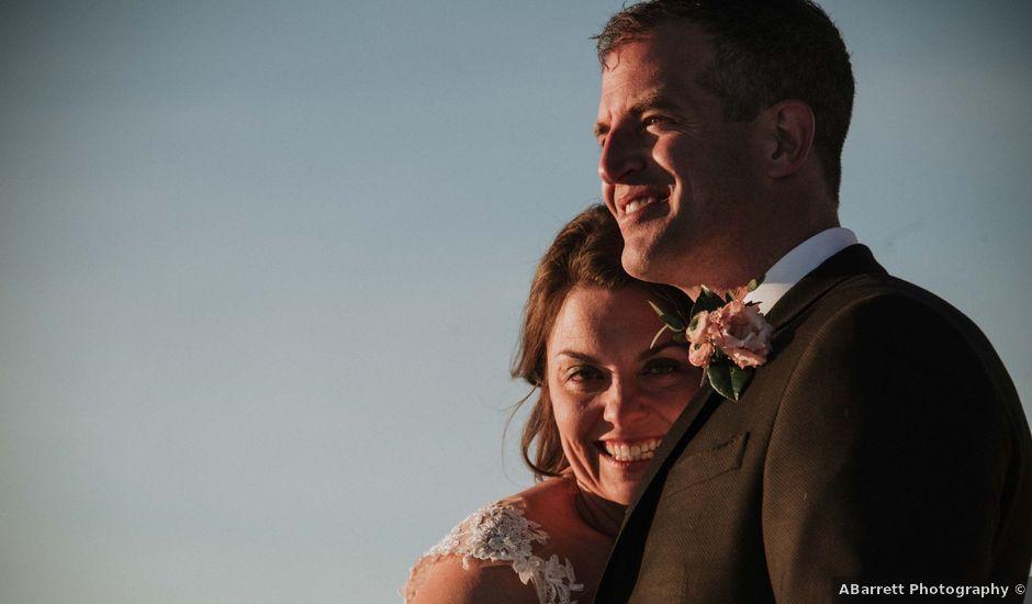 Collin and Vanessa's wedding in Golden, British Columbia
