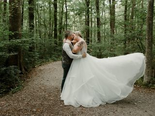 The wedding of Brittany and Michael