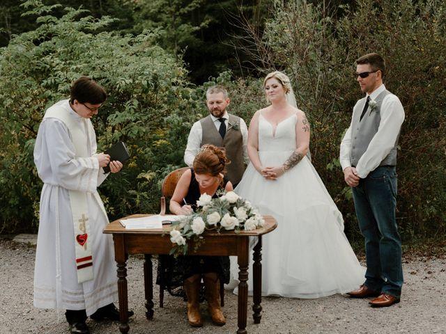 Michael and Brittany's wedding in Niagara Falls, Ontario 86
