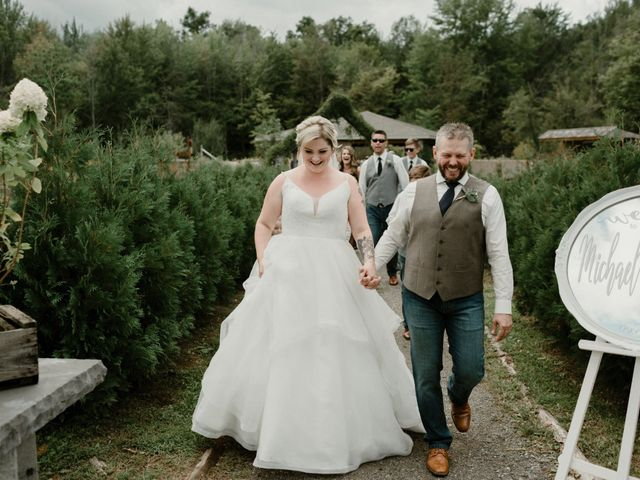Michael and Brittany's wedding in Niagara Falls, Ontario 89