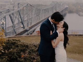 The wedding of Grace and David